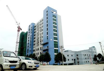 扩建中的住院大楼
